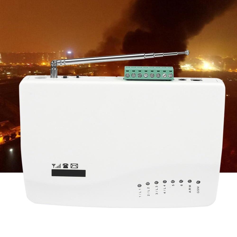 Wireless Voice Security Alarm System Dual  Burglar  Alarm Detector Auto Dialer SMS Alarmas De Seguridad Para Casa enlarge