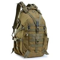 Походный рюкзак 40 л для кемпинга, мужские военные тактические Светоотражающие рюкзаки, уличные дорожные сумки Molle 3P, рюкзак для альпинизма, ...