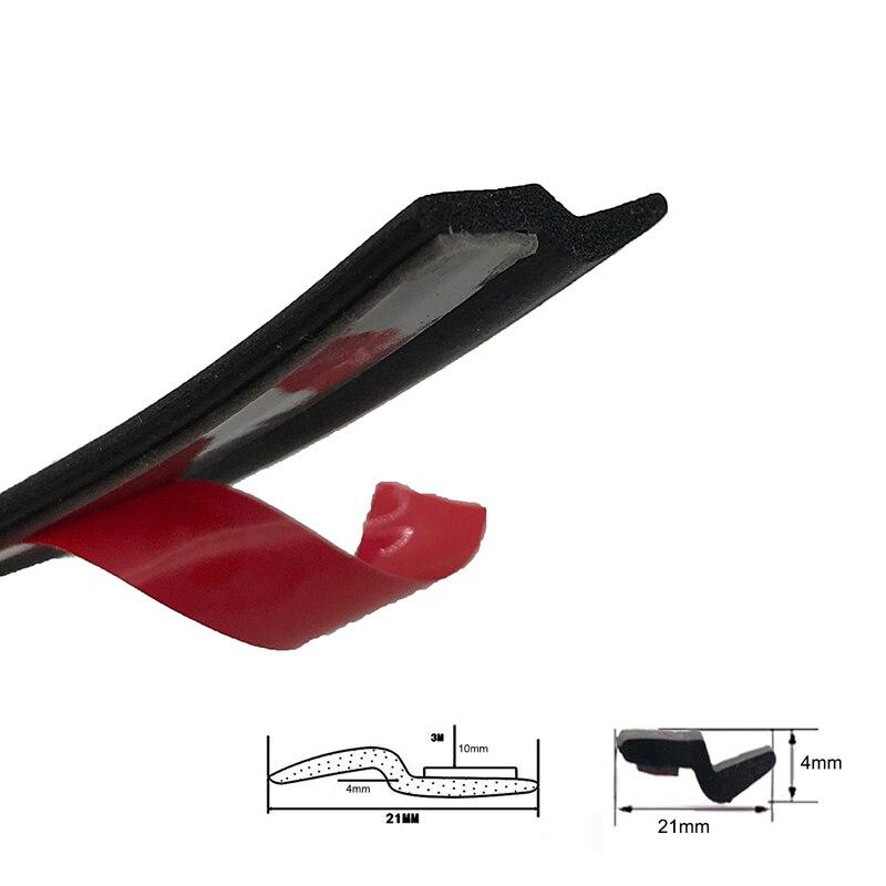 2 метра Универсальный Z-type черный резиновый автомобильный багажник дверь губы край уплотнение отделка протектор полосы для BWN hyundai
