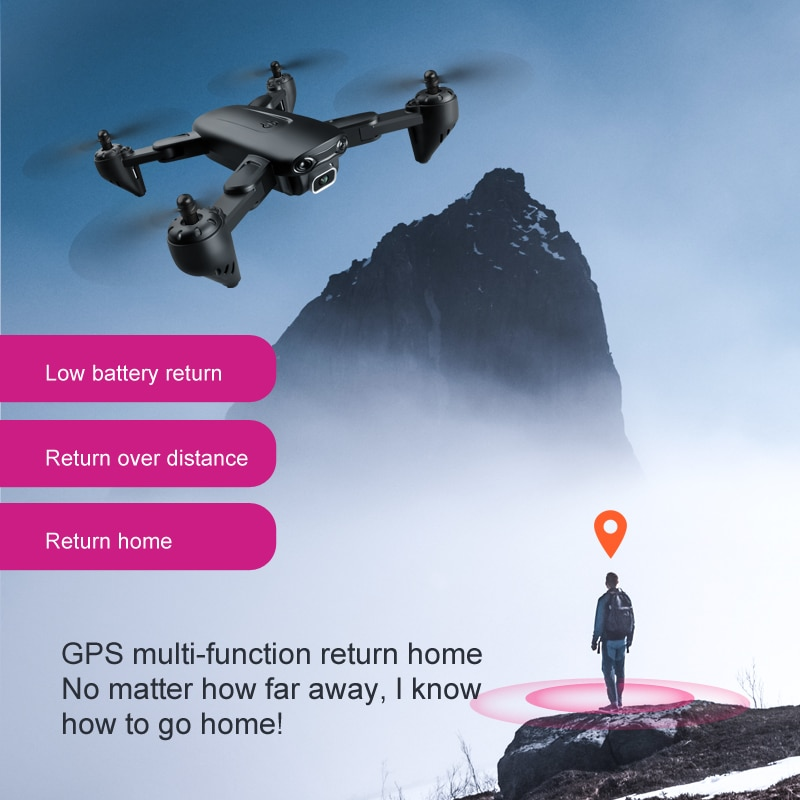 F6 GPS drone 4K camera HD FPV drone 5G WiFi RC Quadcopter professional drone four-axis folding remote control aircraft enlarge