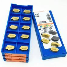 Outil de rainurage de haute qualité SP400 PC9030 NC3020 NC3030, insertion de carbure de tournage SP 400