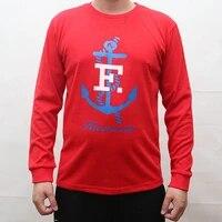 Automne et Hiver Homme Celebre Marque Top Manches Longues Homme Decontracte Impression Epais T-shirt Faconnable Male E p