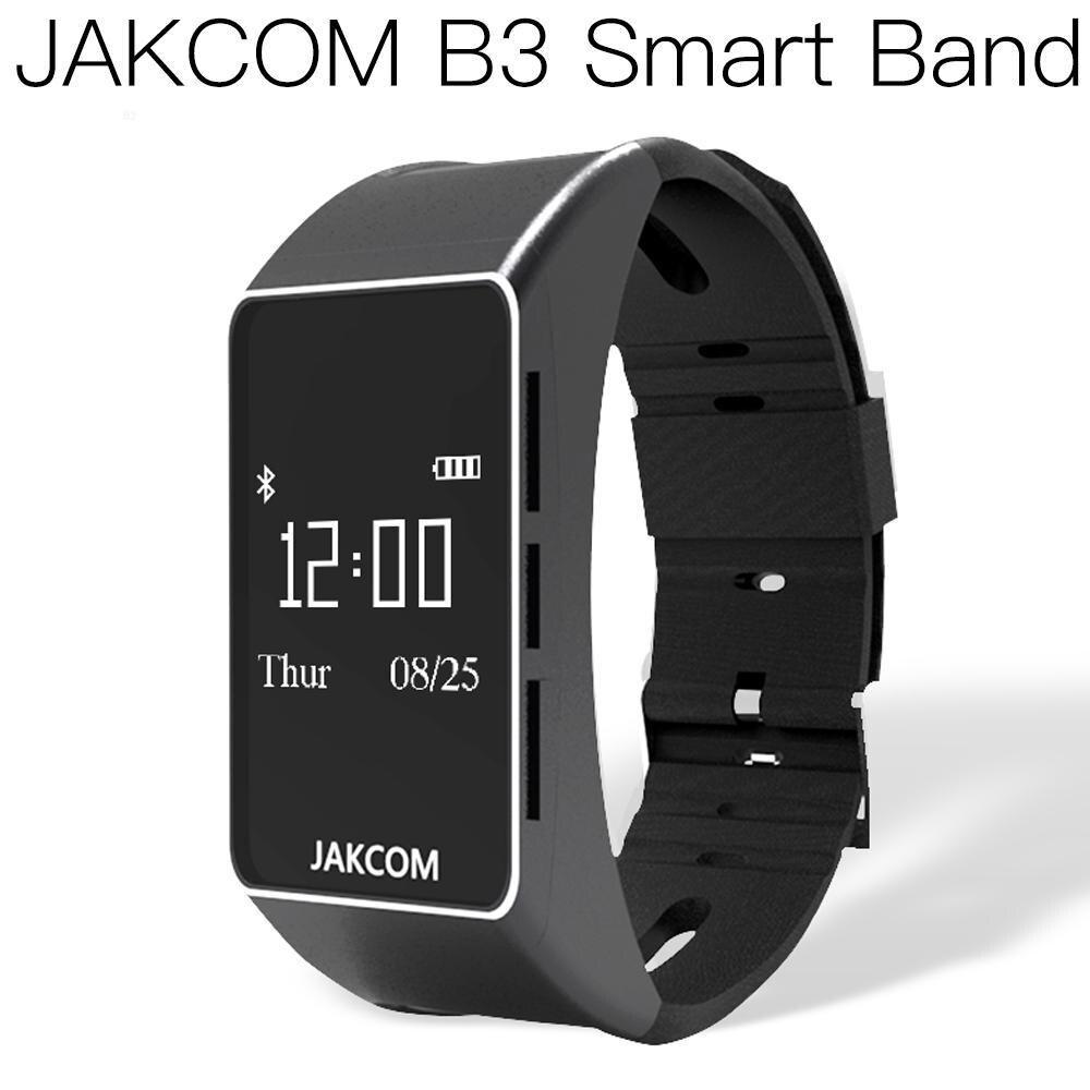 Reloj inteligente JAKCOM B3, reloj inteligente más nuevo que el smartfone, color astos w7, Termómetro frontal de 5 bandas, paso aeróbico inteligente