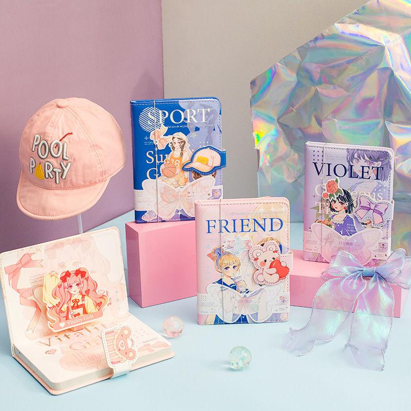Милые блокноты и журналы принцессы