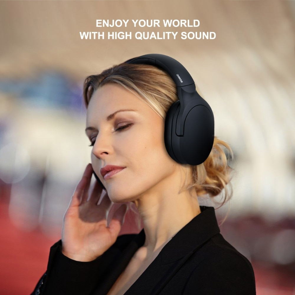 SOMIC SC2000BT Wireless Bluetooth Headphones HiFi Stereo Portable Music Headset For Mobile Xiaomi Phone Tablet Pad enlarge