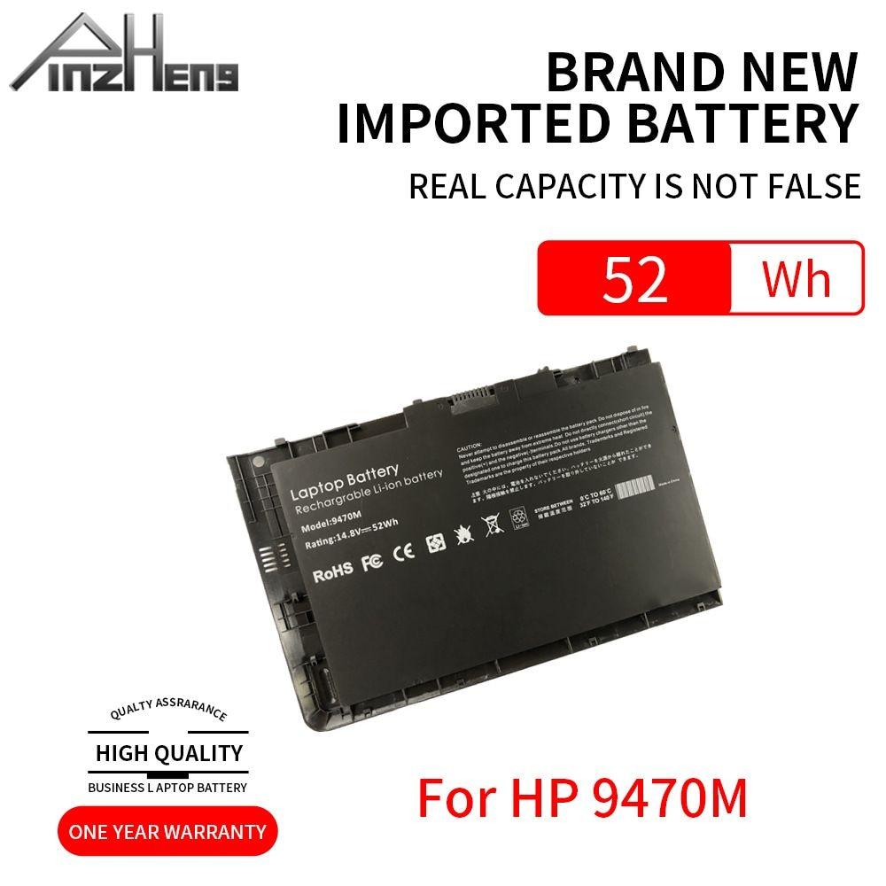 pinzheng bateria para laptop compativel com hp elitebook folio 148 9470m serie porcelana