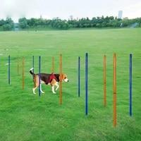 dog training round pole dog portable outdoor sports equipment dog agility obstacle training pole sports round pole