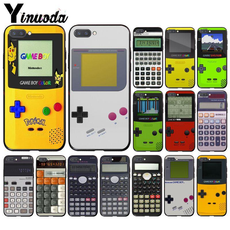 Чехол для телефона Yinuoda Gameboy Game Boy с калькулятором для Huawei Honor 8X 9 10 20 Lite 7A 5A 7C 10i 9X pro Play 8C