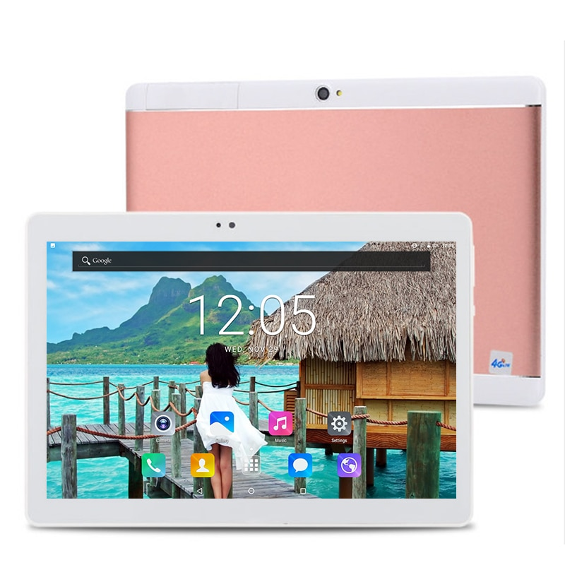 2021 New 10 Inch Tablet Pc Android 9.0 Octa Core RAM 6GB ROM 128GB Wifi Bluetooth 1280*800 IPS Scree