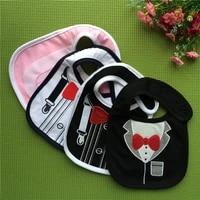 cute cartoon baby bibs cotton saliva towel for babies three layer waterproof bib for children baby goods four seasons