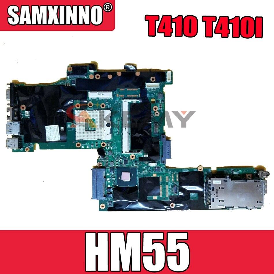 اللوحة الأم للكمبيوتر المحمول لينوفو ثينك باد T410 T410I NZM1I-8 اللوحة الرئيسية HM55