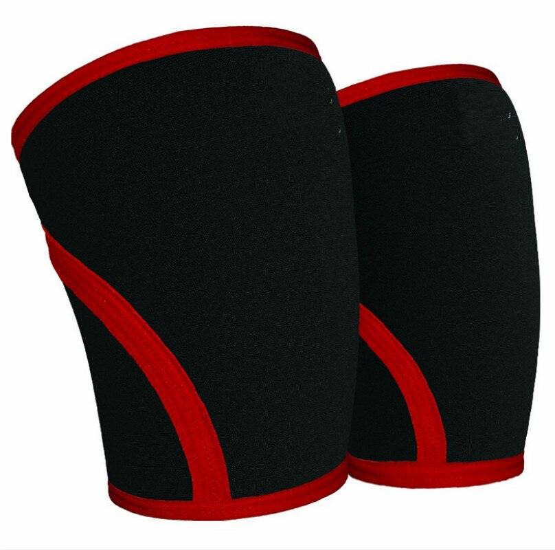 Легкая атлетика и тяжелая атлетика, компрессионное колено без скольжения, 1 пара для большой поддержки и эффективного облегчения боли в мыш...