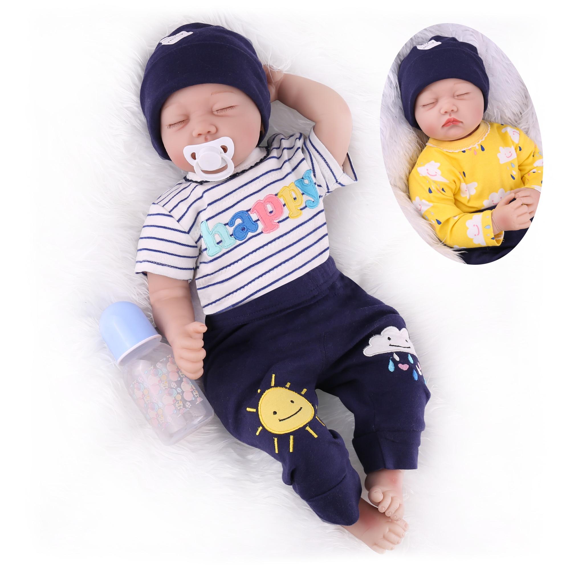 دمية طفل على قيد الحياة مقاس 22 بوصة ، دمية لحديثي الولادة