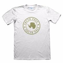 2020 Custom Made Shirts Antarctica South Pole Design T-Shirt - Funny Men's Gift short Sleeve Tee Shirts