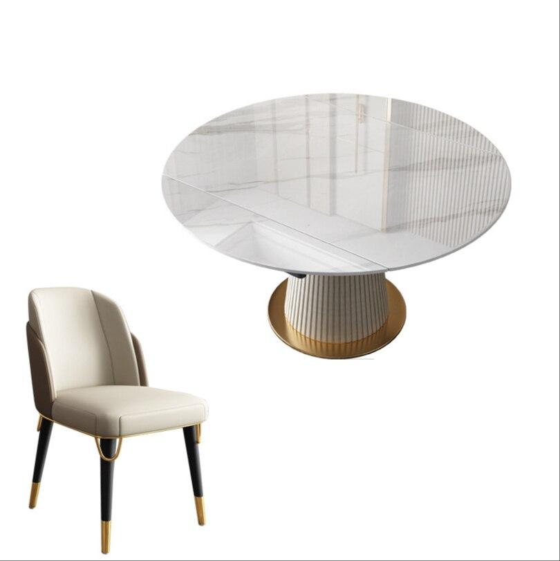 طاولة طعام مستديرة مزدوجة الاستخدام الروتاري تلسكوبي طاولة طعام المنزلية الصغيرة المنزلية متعددة الوظائف متغير طاولة طعام