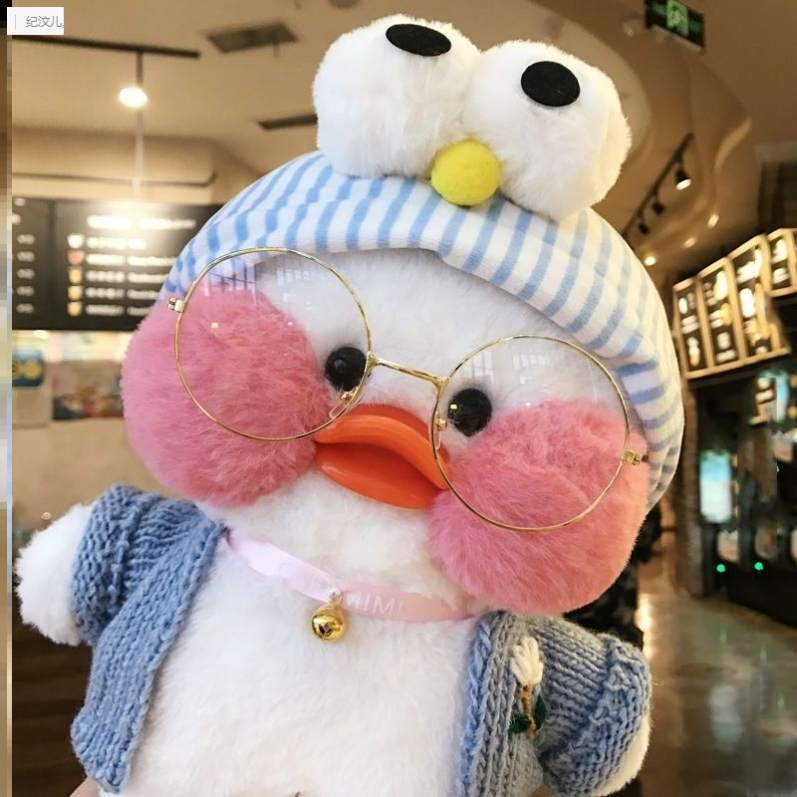 Маленькая кукла желтая утка 30 см Netred с гиалуроновой кислотой утки лалалафанан утки плюшевые мягкие игрушки утки кукла подарок на день рожде...