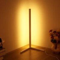 modern corner floor lamp nordic floor lamps atmosphere floor light indoor standing lamps for bedroom decoration dropship