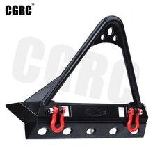 RC Car Metal Front Bumpers For 1/10 RC Crawler TRX4 Defender Axial Scx10 90047 90046