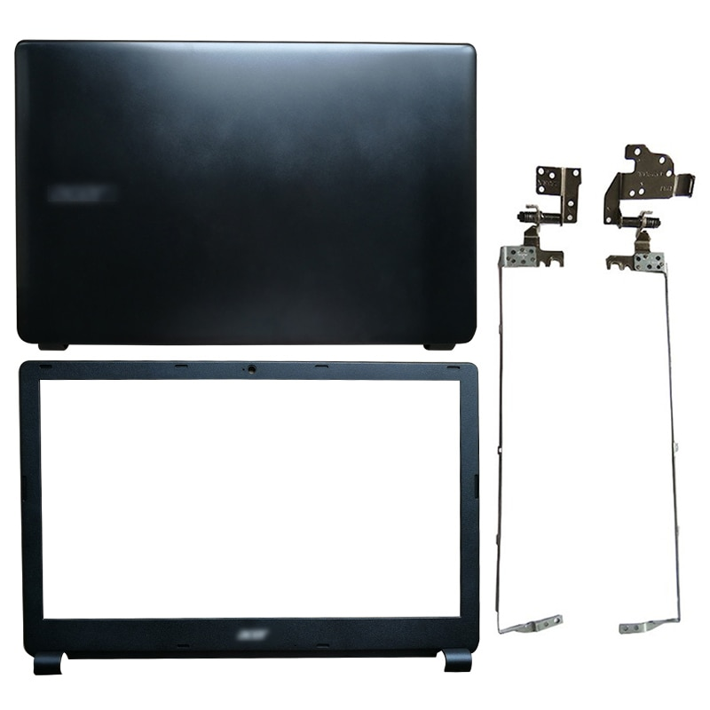 LCD de ordenador portátil cubierta/LCD Front bezel/LCD bisagras para Acer Aspire E1-510...