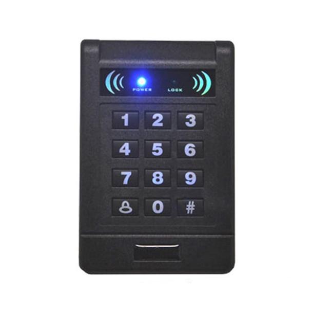 AD-200E 125Khz RFID Proximity Card Keypad Access Control RFID/EM Card Reader Door Lock Controller Gate Opener