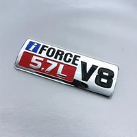 3d i force v8 5 7l emblem badge decal sticker for toyota tundra sequoia land cruiser crossover tacoma car styling