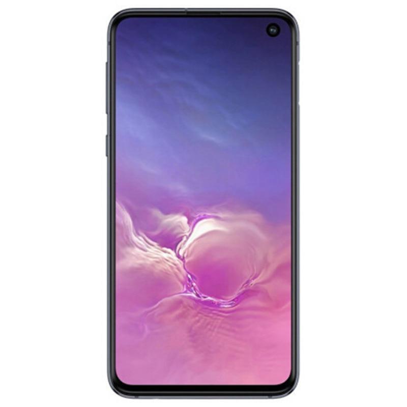 Фото3 - Samsung Galaxy S10e G970U1 G970U Восьмиядерный процессор Snapdragon 855 LTE Android мобильный телефон 5,8 дюйм. 16MP & 12MP 6 ГБ ОЗУ 128 ГБ ROM NFC