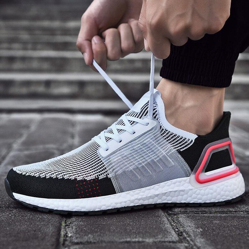 Zapatos casuales para hombre 2020, zapatos cómodos a la moda con cordones para hombre, zapatillas antideslizantes resistentes al desgaste para calzado para hombre adulto