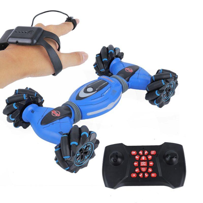 Remote Control Stunt Toy Car 2.4GHz Gesture Sensing Stunt Car with Four-Wheel Drive Children Gift