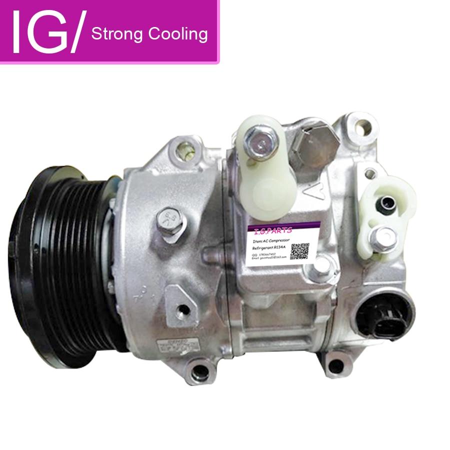 Compresor de aire acondicionado automático 7SEH17C para coche Toyota VENZA Toyota HIGHLANDER 2,7 compresor de CA