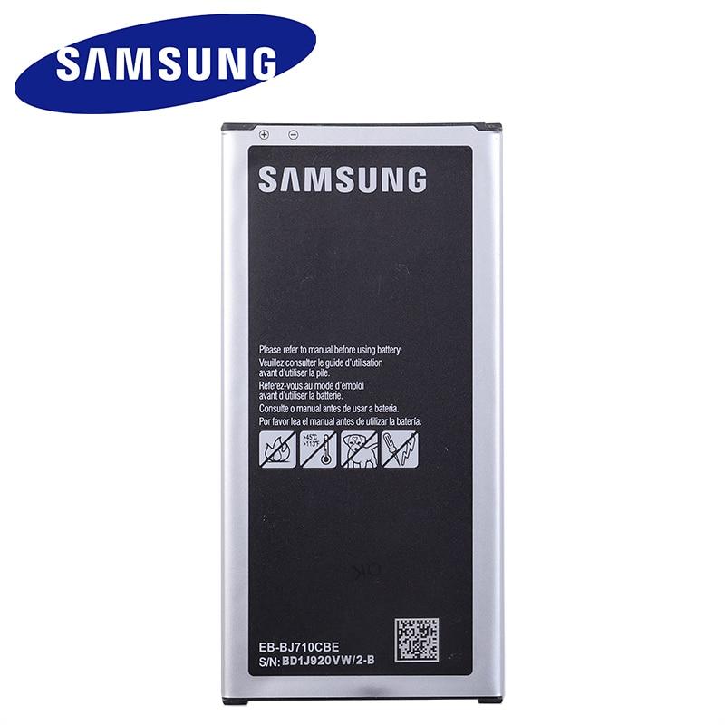 EB-BJ710CBE EB-BJ710CBC 3300mAh Samsung batería Original para Samsung GALAXY 2016 versión J7 SM-J7109 J7108 J710F J710K J710H J710M NFC