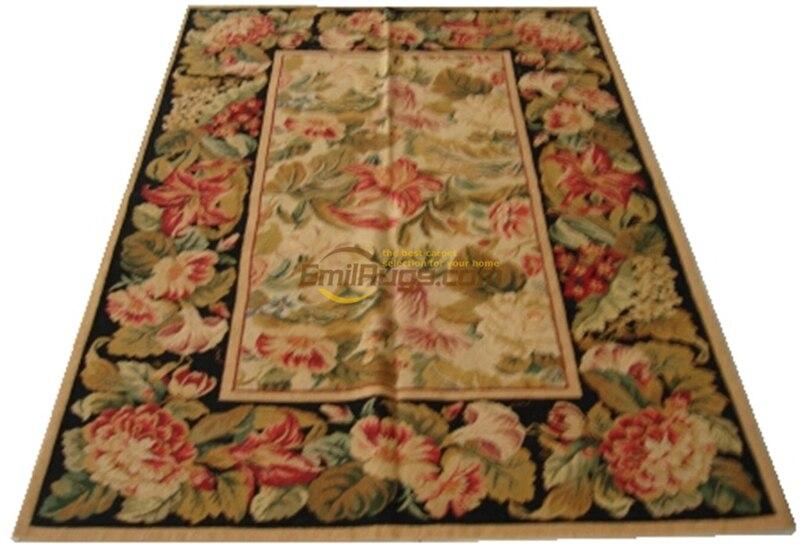العتيقة إبرة رمي العتيقة الصينية المصنوعة يدويا الصوف أريكة استخدام الكلمة متحف الأغنام الطبيعية الصوف