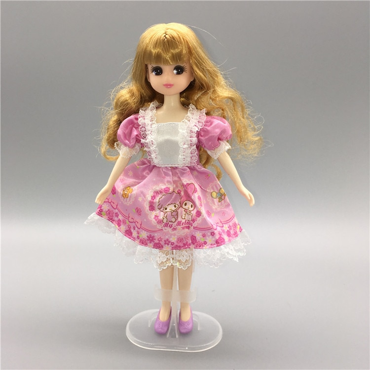 Очень красивая новая одежда красивое платье Кукла аксессуар для кукла Licca