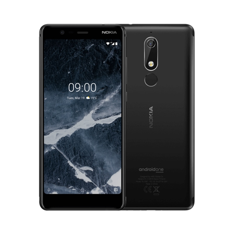 Versión Global Nokia 5,1 LTE teléfono inteligente 3GB 32GB 5,5 pulgadas IPS MT6755S Octa-Core 16MP 8MP Cámara Android Teléfono Móvil