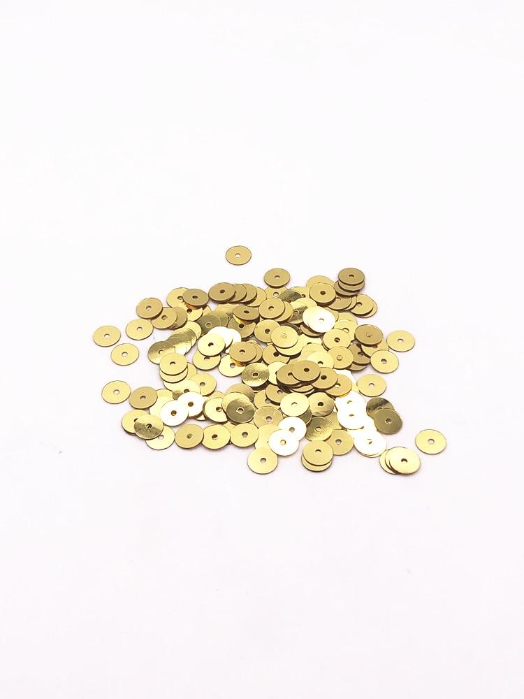 Lentejuelas de PVC Para Decoración del hogar, accesorios de Costura artística Plana...