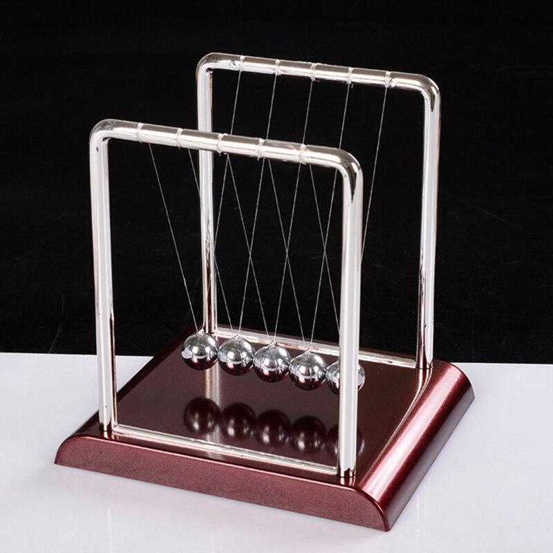 Newton's Cradle Physics Science Pendulum Educational Juguetes Kids Toys Children Metal Balance Ball Antistress Games Toy Desk