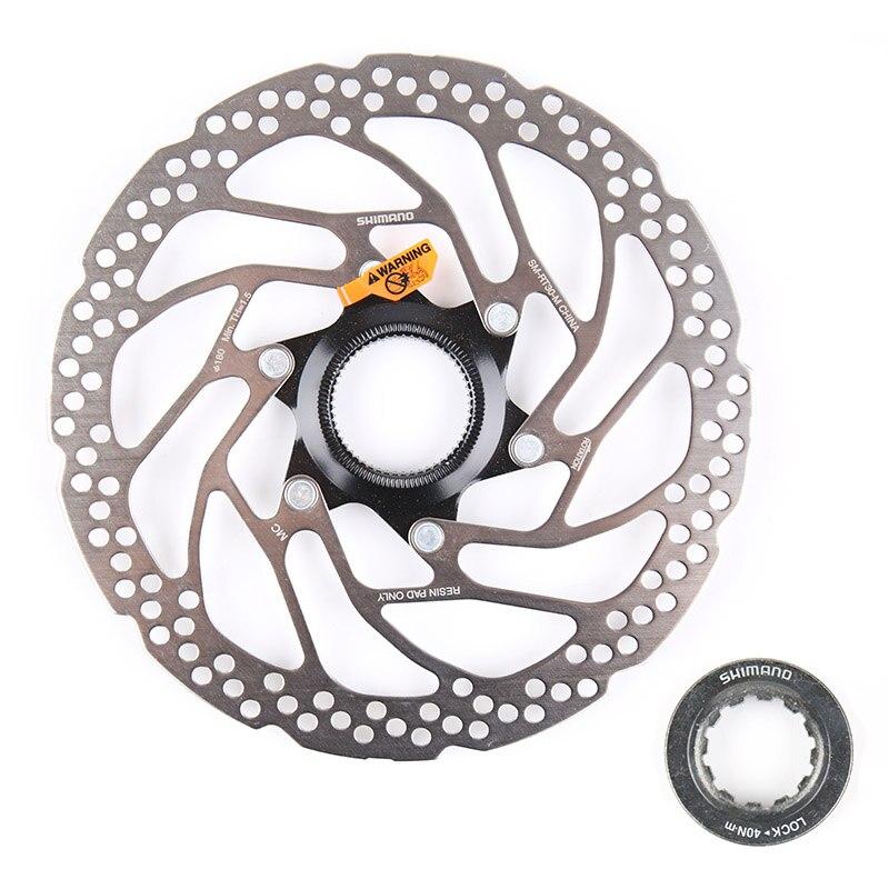 1 peça shimano sm rt30 180mm centro bloqueio de freio a disco da bicicleta rotor SM-RT30-M 180mm