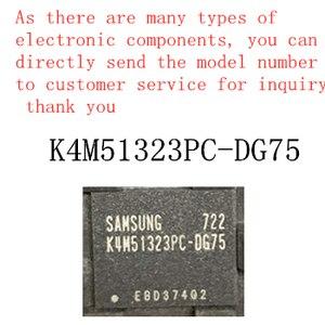 100% new memory granule K4M51323PC-DG75 tsop flash DDR SDRAM routing upgrade memory provides BOM allocation