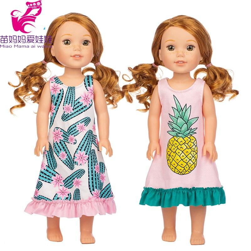 Кукольное платье для девочек, размер 14,5 см, Camille Ashlyn Kendall Emerson, 38-36 см