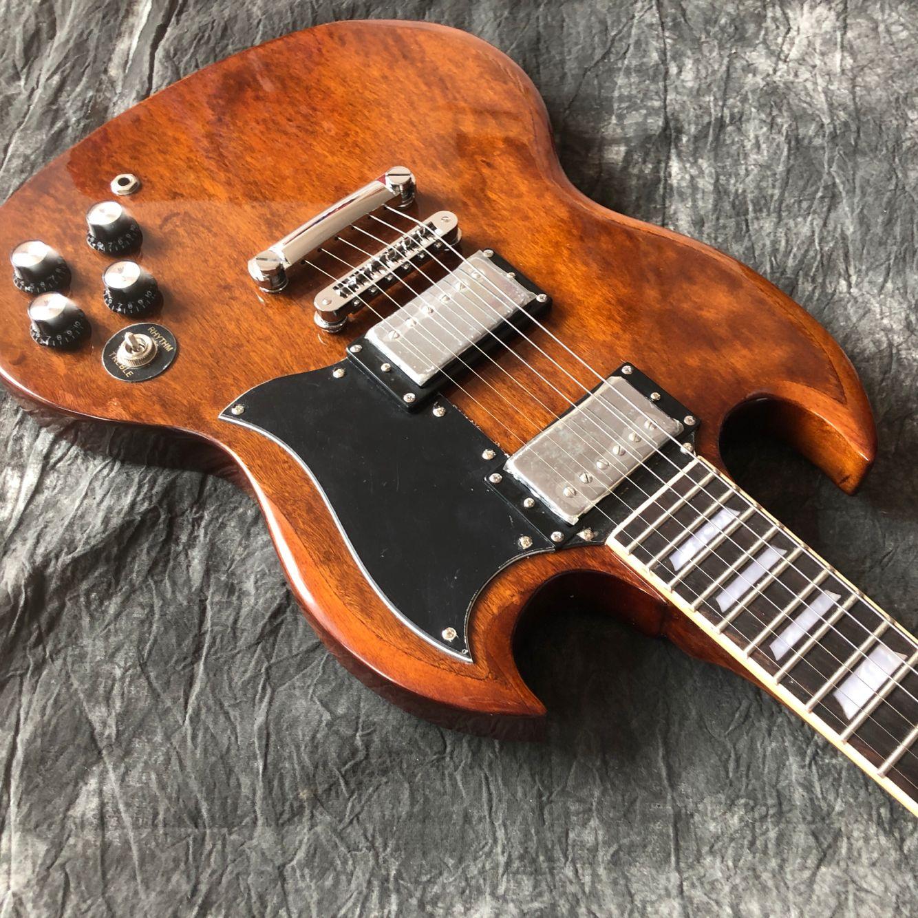 Custom shop.electric guitar.rosewood fingerboard gitaar,Chrome hardware.handwork 6 Strings guitarra. enlarge