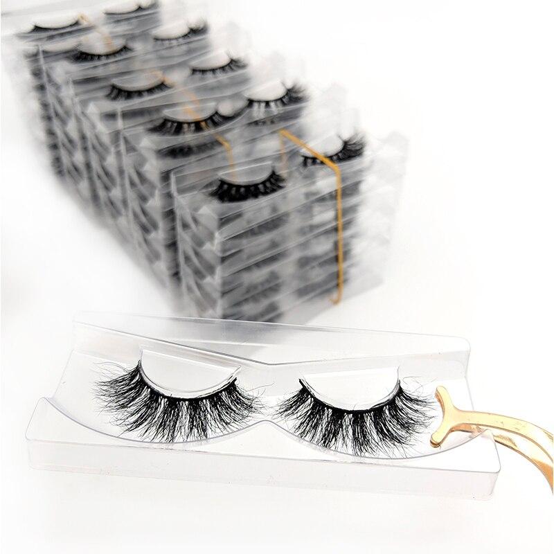 Ресницы из норки Rainsin оптом, ресницы оптом, 5/30/50 пар, мягкие пушистые натуральные норковые ресницы, норковые ресницы для макияжа