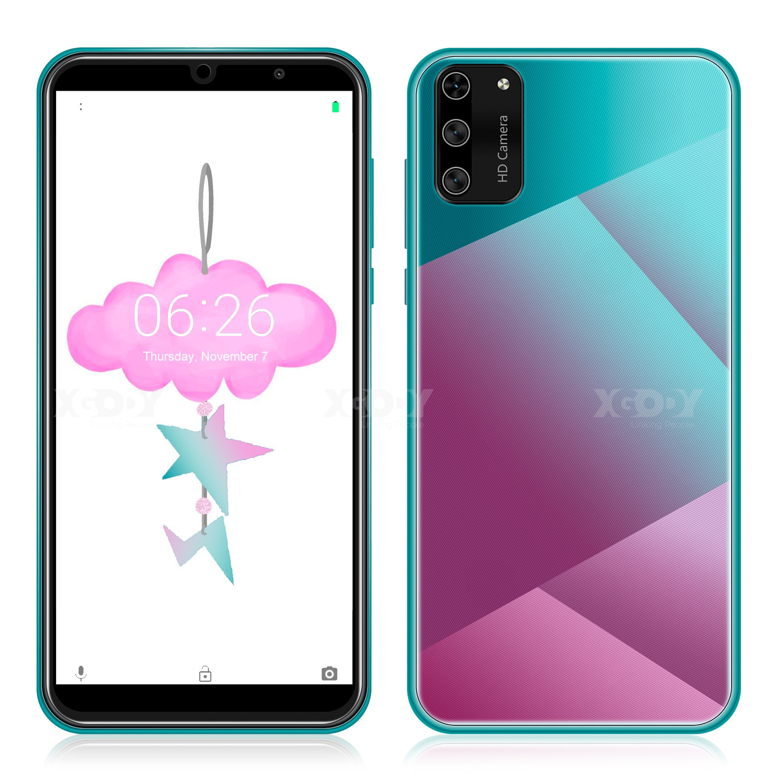 XGODY+S20+mini+3G+smartphone+1GB+RAM+4GB+ROM+t%C3%A9l%C3%A9phones+mobiles+Android+9.0+double+SIM+5.5+%27%27t%C3%A9l%C3%A9phone+portable+5MP+cam%C3%A9ra+WiFi+t%C3%A9l%C3%A9phone+cellulaire