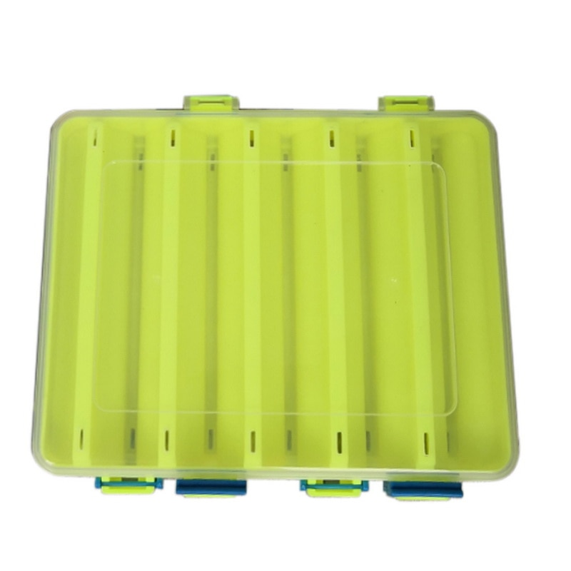 New Fishing Box Compartments Fishing Accessories Lure Hook Boxes Storage Double Sided High Strength Outdoor Fishing Tackle Box enlarge
