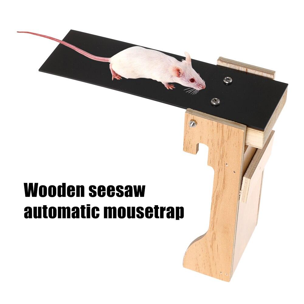 Фото - Wood Plank Mouse Trap Auto Reset Reusable No Harmful Wooden Mice Catcher Mouse Trap Walk The Plank Mouse Trap With Auto Reset emmett jonathan the santa trap