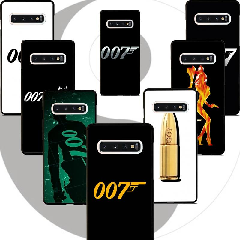 Movies James Bond 007 Phone Case For Samsung Galaxy S10E S9 Back Cover For Samsung J8 (2018) J710 TPU Silicone Coque