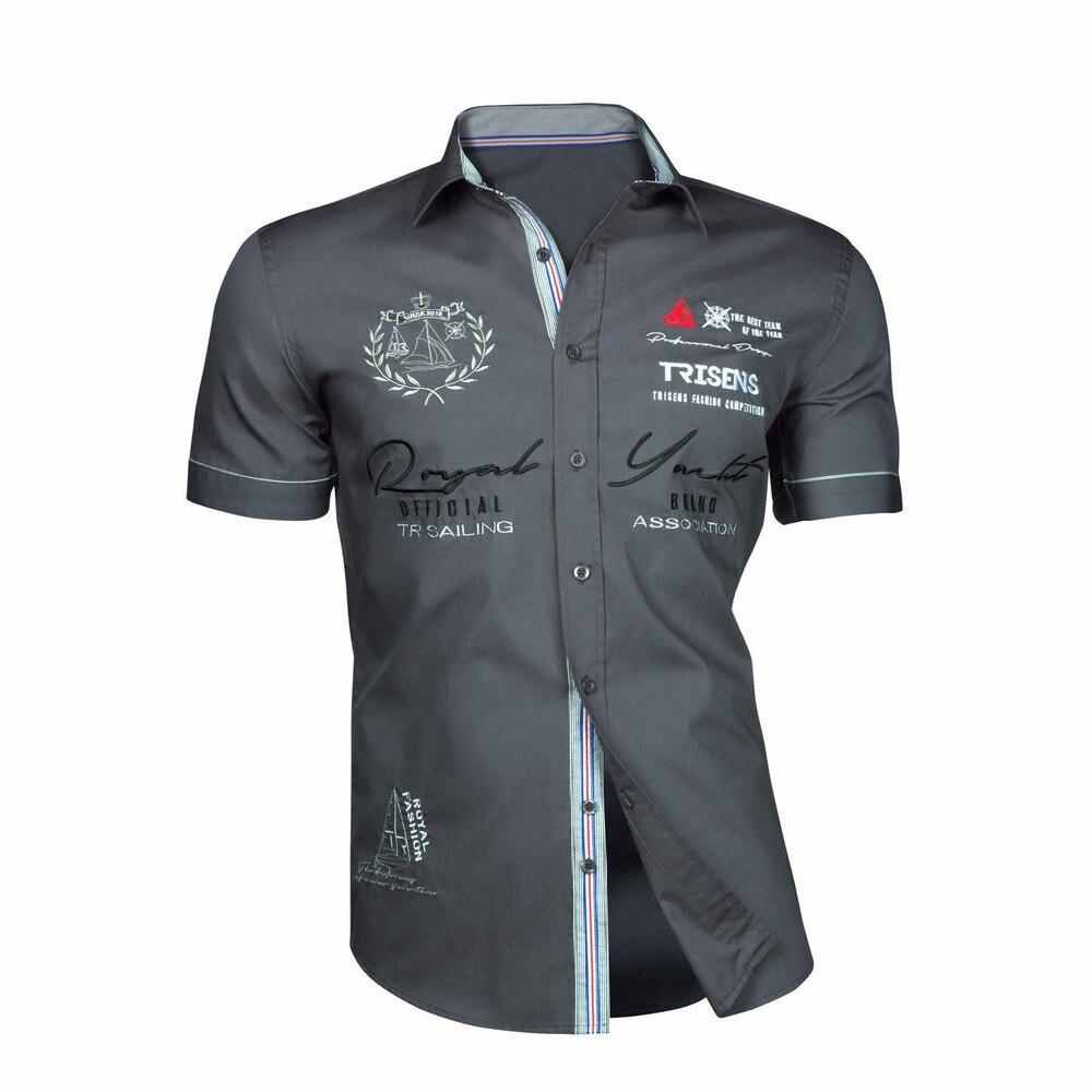 ZOGAA 2020 de la moda de los hombres camisas de manga corta carta verano impreso camisas casuales de buen diseñador Camiseta Polo Tops Tee
