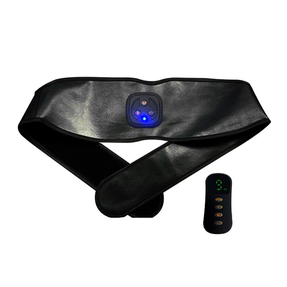 Cinturón de entrenamiento Fitness EMS inteligente Unisex, Estimulador muscular eléctrico, adhesivo para los músculos abdominales, dispositivo de entrenamiento muscular doméstico