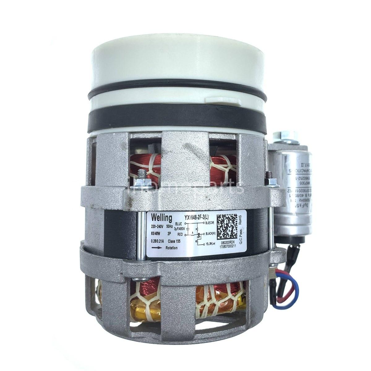 Welling YXW48-2F-3(L) 220V 65/48W Dishwasher Circulating Pump Motor for Hansa/Korting/Gorenje