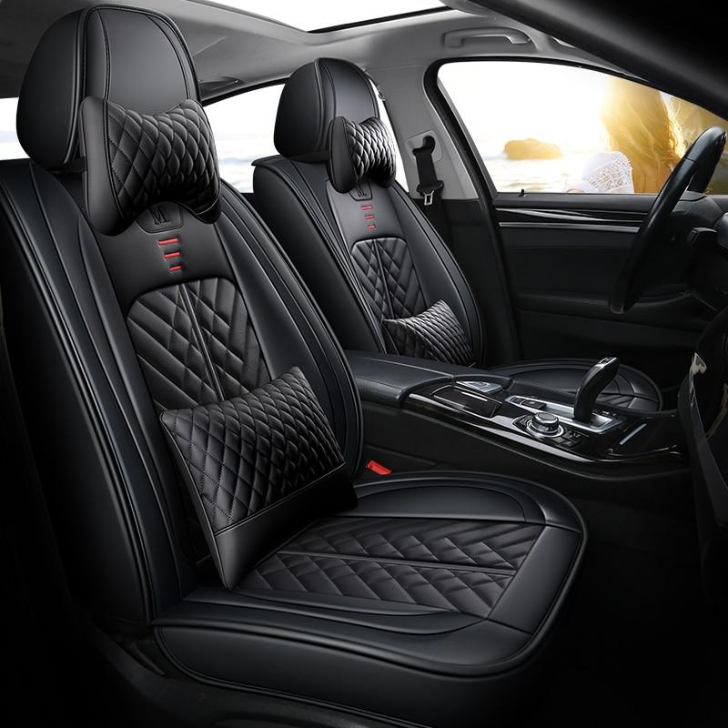 تغطية كاملة ايكو الجلود مقاعد السيارات يغطي مقعد سيارة من جلد بلوتونيوم يغطي ل دايو ماتيز جينترا nexia