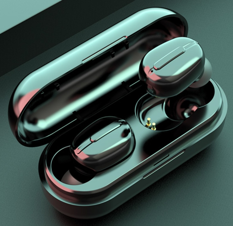 Wireless Headphones L13 TWS Bluetooth Earphones IPX6 Noise Reduction Earbuds Color Display Waterproo