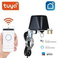 Vanne darret de gaz eau sans fil Tuya  prise en charge Amazon Alexa et Google Assistant  domotique intelligente